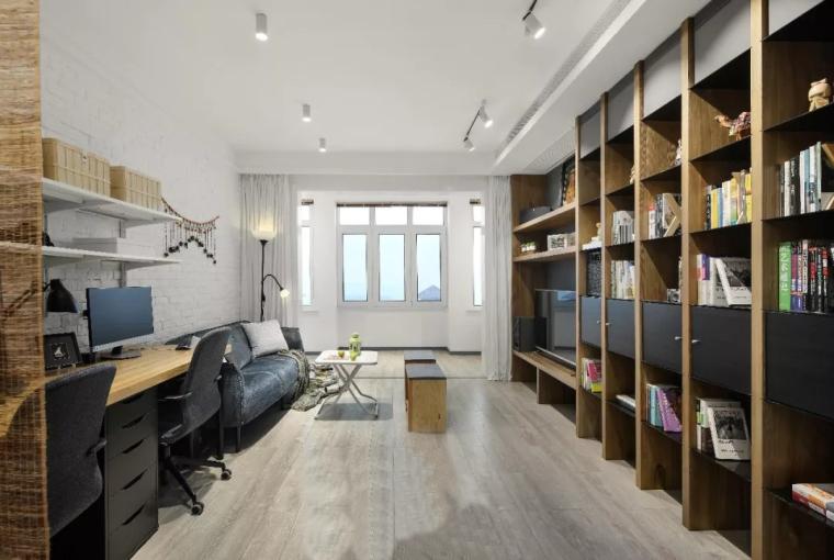 南京110m²人文北欧风住宅