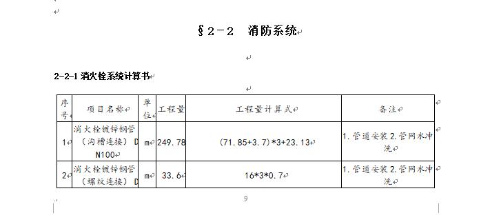 安装工程施工图预算毕业设计_5