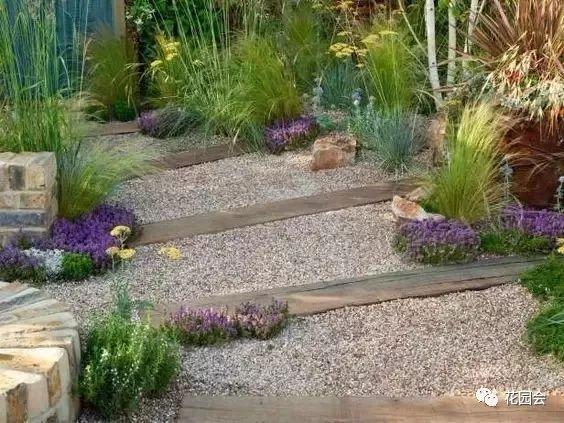 花草与石板的关系•花园小径_2