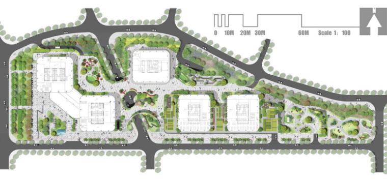 [分享]产业园景观设计文本电气资料下载大全图纸v文本方案图片