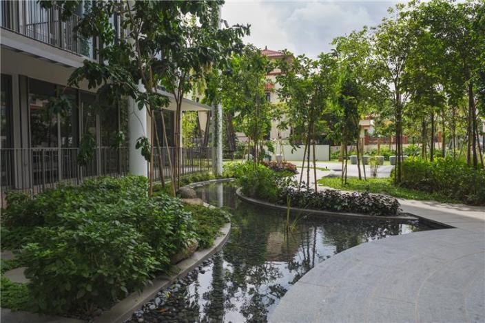 新加坡Tembusu住宅景观