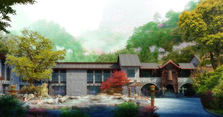 农旅景观:贵州云溪谷设计图_14
