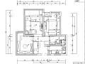 [湖北]欧美时尚混搭风格样板房设计施工图(附效果图)