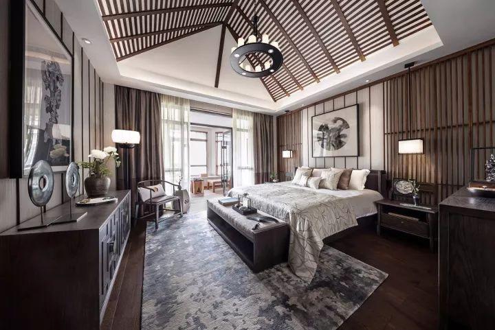 280m²新中式别墅,演绎东方极致美学!_23