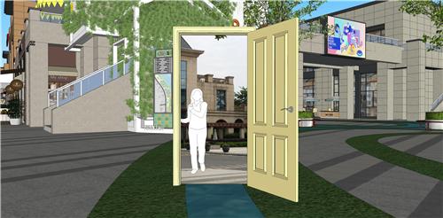 商业街氛围营造|打破空间,打造另类购物体验——梅澜坊商业街之-26