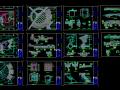 某市区小广场景观施工图