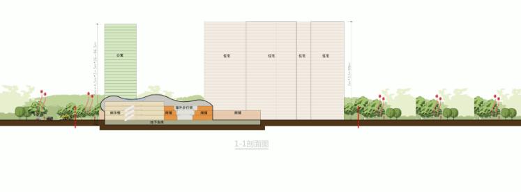 [湖北]超高层娱乐百货商业中心建筑设计方案文本(含CAD)_10