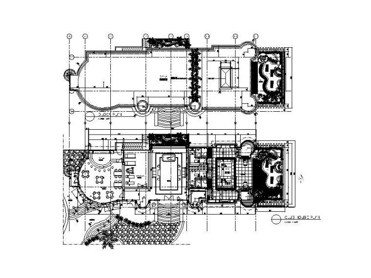 [北京]现代简约独栋别墅设计施工图