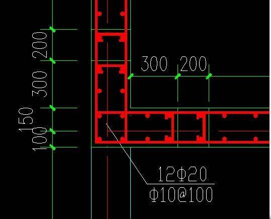 广联达钢筋软件中的暗柱处理
