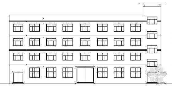 贝利可服装厂四层综合楼建筑施工图