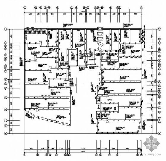 某七层砖混住宅全套结构图