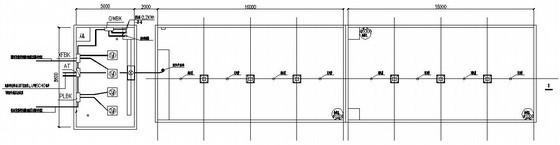 厂区消防泵房电气施工图纸