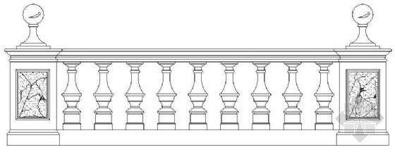 欧式栏杆详图38