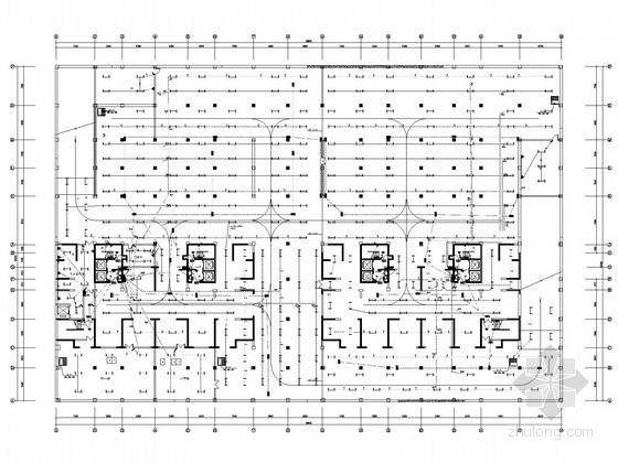 [分享]商住楼两层商业全套图纸资料下载图片