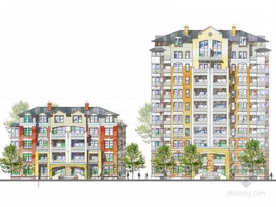 [重庆]某美地居住区整体规划与建筑方案设计文本