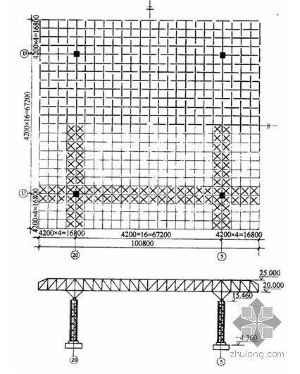 某体育馆钢网架安装施工方案