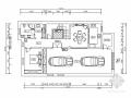 [黑龙江]奢华400平欧式新装饰主义风格三层别墅施工图(含效果)
