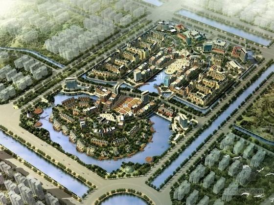 """[南昌]""""东方阿姆斯特丹""""欧式水城小镇商业及居住区整体规划设计方案"""