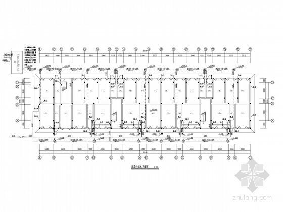 [广西]大学职工宿舍楼给排水施工图(太阳能热水系统)