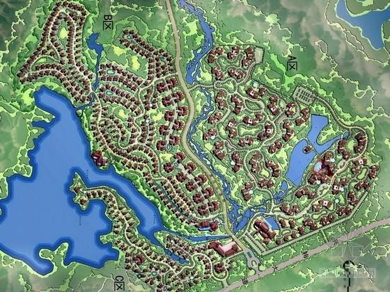 [海南]热带雨林生态休闲养生区景观规划设计方案