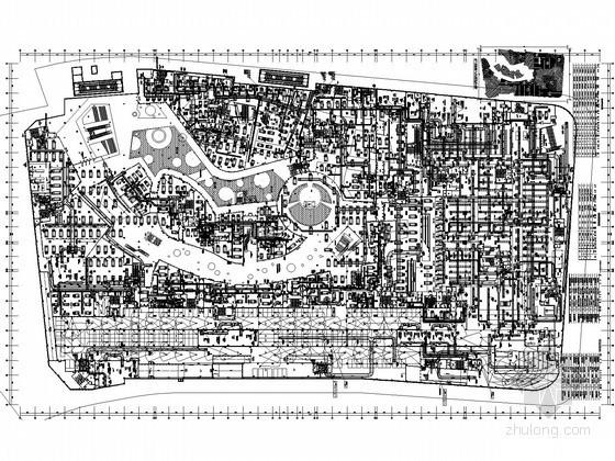 [山东]高层商业综合体空调通风及防排烟系统设计施工图(大院设计)