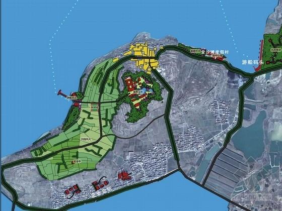 [江苏]山清水秀休闲旅游区景观总体规划设计方案(知名设计院)