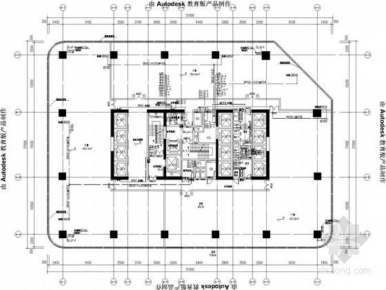[广东]超高层科技创新园给排水消防施工图(气体灭火 雨水回收利用)