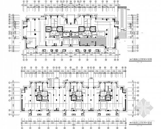 [浙江]多高层公寓项目公共区域装修工程照明及配电系统施工图