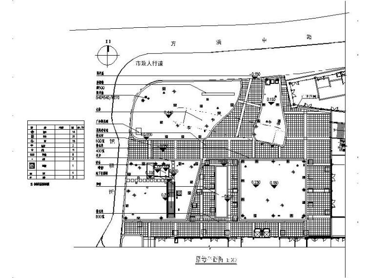 [上海]传统风情商业广场景观设计施工图