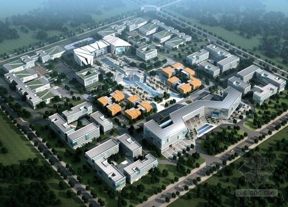 [山东]某产业园区规划及单体设计方案文本(含ppt)