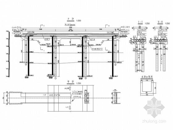 3-20m预应力砼连续空心板桥设计套图(55张)