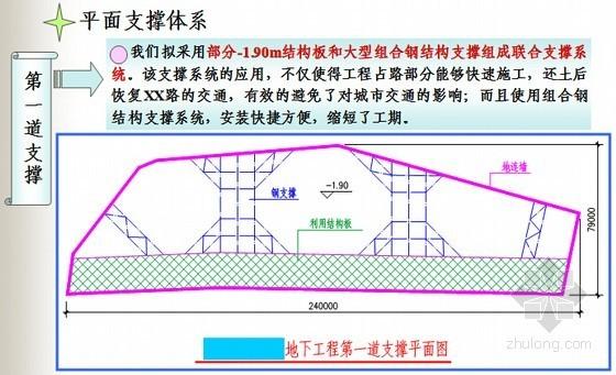 [天津]14米深基坑工程支护设计方案展示