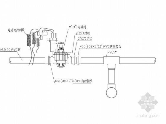 小型农田水利工程喷灌系统设计详图