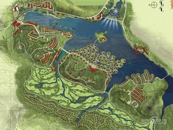 [南京]风景名胜区度假村概念性规划设计方案