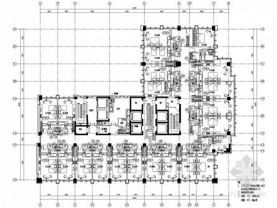 [湖南]二十一层酒店及商场给排水暖通图纸