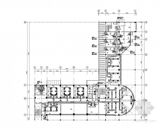 [深圳]八层综合楼暖通空调通风系统设计施工图