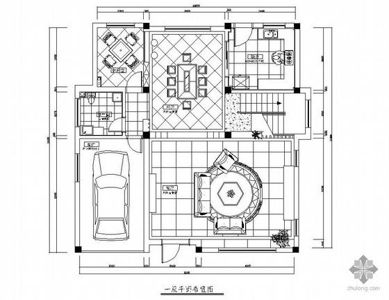三层别墅设计图(含效果图)