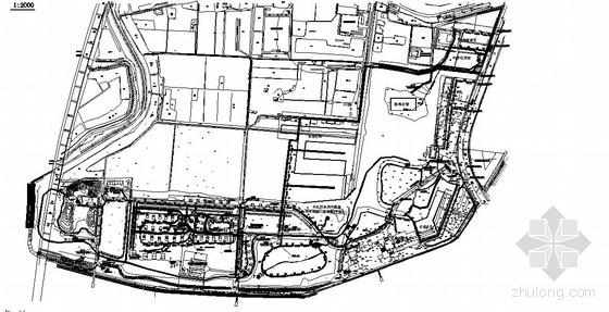 扬州某公园污水管网设计图纸
