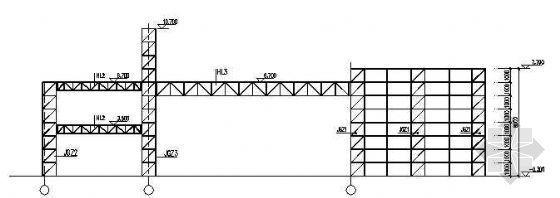 一套完整的钢结构大门及传达室建筑结构图纸