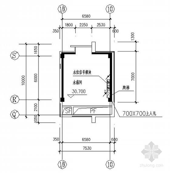 哈尔滨某中学教学楼消防电气设计图