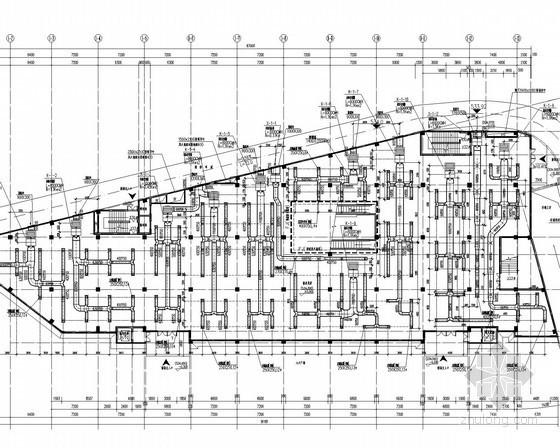 [四川]多层商业建筑空调通风系统设计施工图(甲级院)