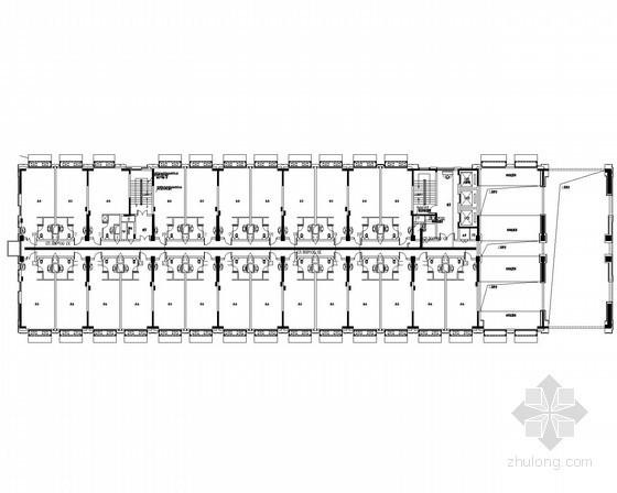 [浙江]城市广场弱电施工图86张(附弱电智能化设计方案47页)