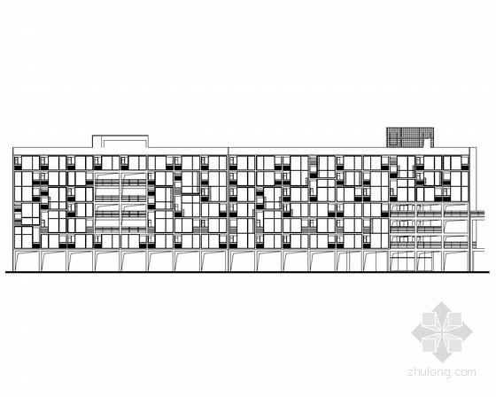 [成都]某七层办公楼建筑施工图(含效果图、初设等)