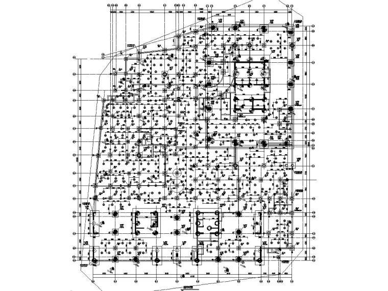 [厦门]10万平金融中心建筑结构施工图(16年新图)
