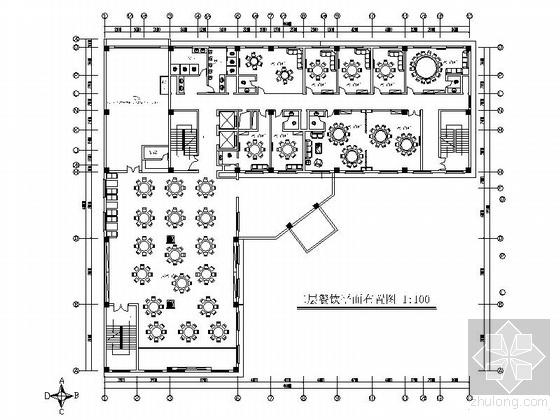 星级酒店现代中式风餐厅室内装修图(含效果)