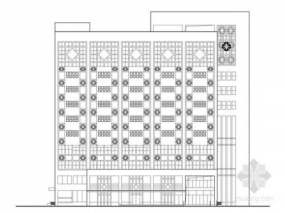 [安徽]十一层高层中医院建筑施工图