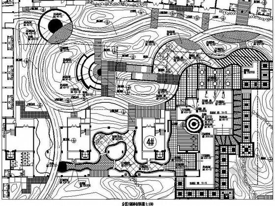 福清家园小区景观设计园建施工图