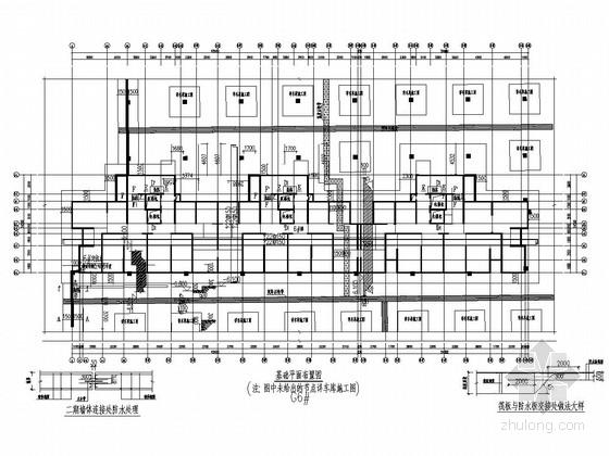 [两种夹层方案]19层剪力墙小区住宅结构图(地下两层)