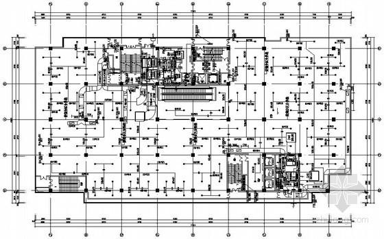 [杭州]商业广场空调通风初步设计图纸