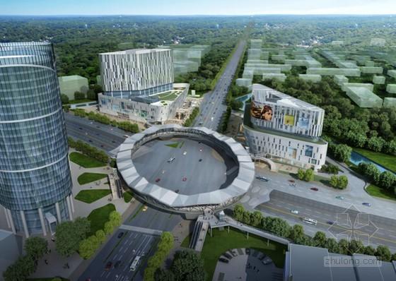 [上海]椭圆形人行天桥梯形多边折面结构桥墩、桥台模板工程专项施工方案87页